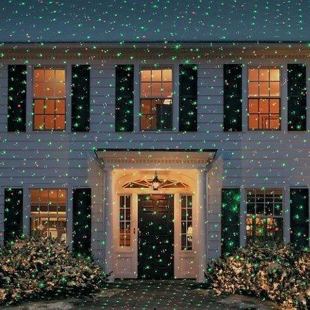As Seen on TV® Star Shower Laser Light Projector Green