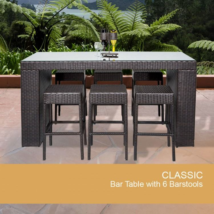 Creative Halsted 4 Piece Wicker Patio Furniture Set Threshold with  Livingroom Wicker Club Chairs Chair Kurtz