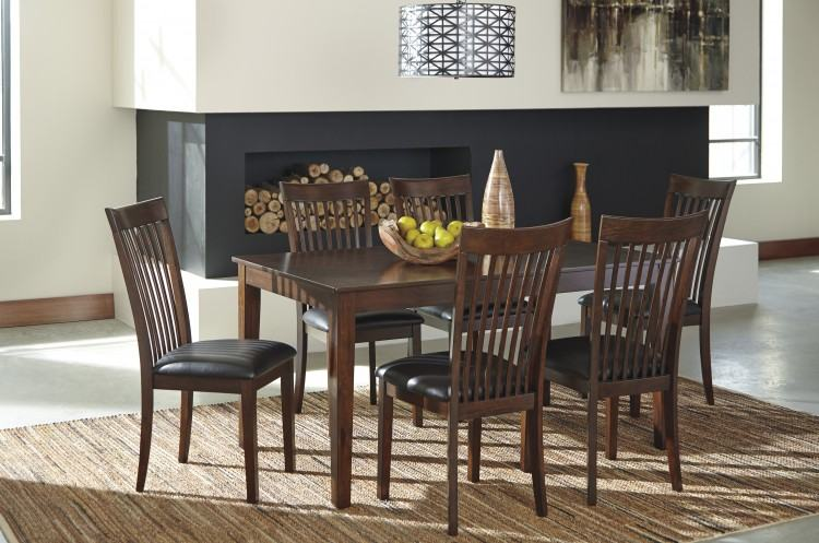 ashley dining room sets signature design by dining room table set 7 ashley  farmhouse dining room