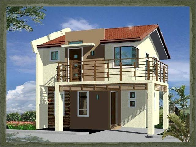 4 bedroom, modern duplex (2 floor) house design