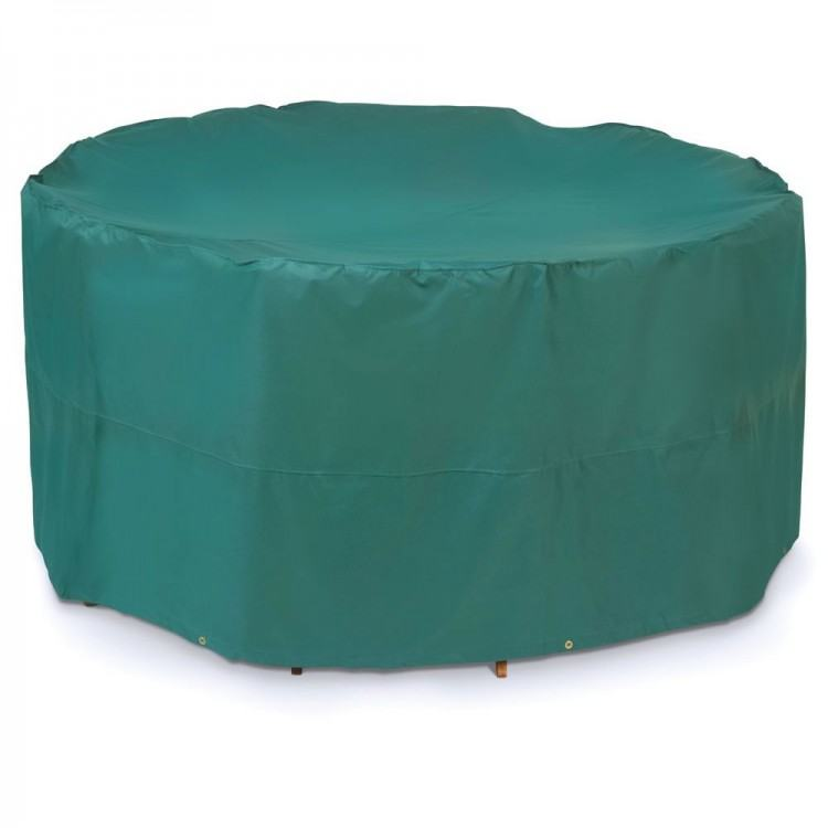 """Patio Furniture Covers Outdoor Waterproof Round Table Cover (54""""D,20""""H"""