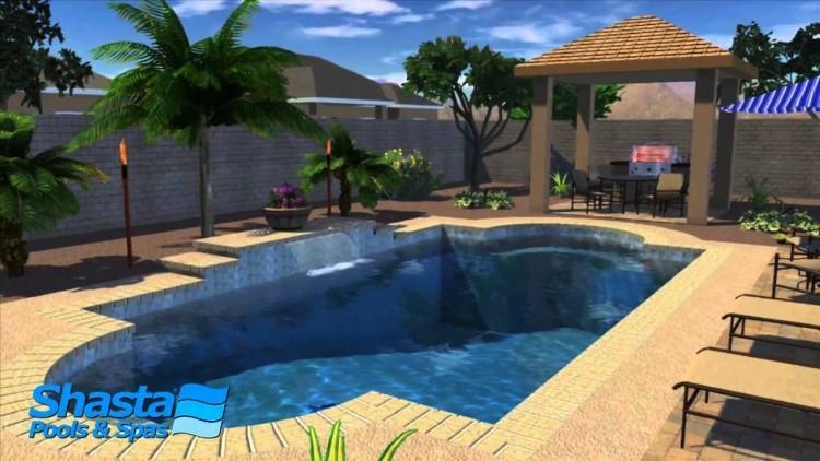 Unique With Phoenix Pool Landscape Design