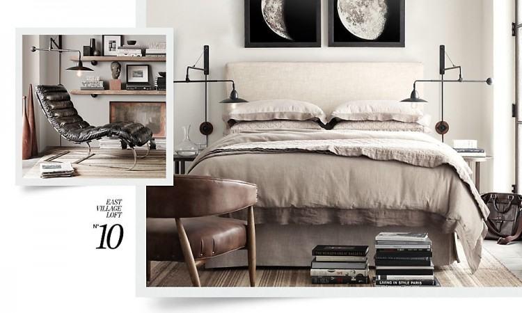 15 Industrial Bedroom Designs Home Design Lover Throughout Modern Industrial  Bedroom Ideas