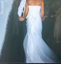 Simple Wedding Dresses Australia formal white lace sweep train bridal  gown simple popular custom 750 X