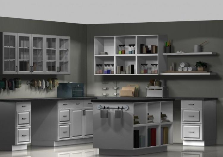 craft made kitchen cabinets