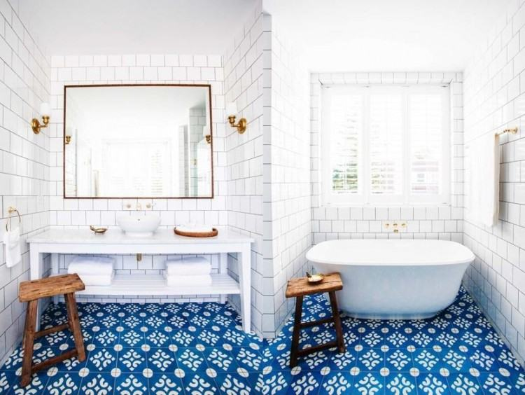 Many people tile their bathroom