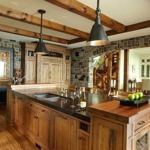 small cabin kitchen designs