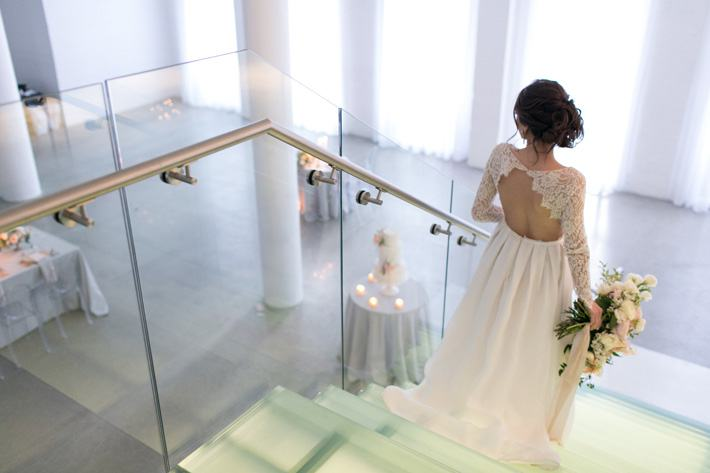 Your wedding dress should match everything you are – from the top of your  head, to the tip of your toes