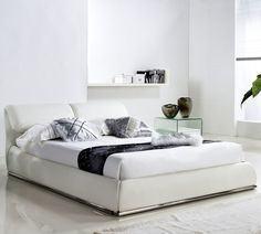 Casabianca Home Zack Upholstered Platform Bed