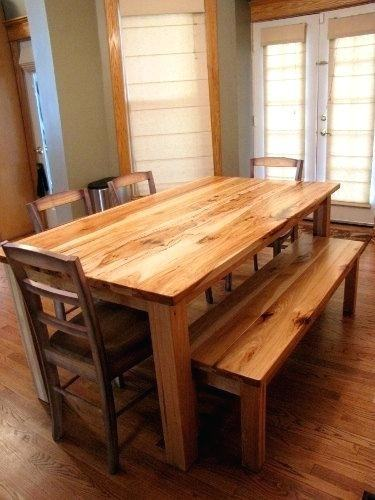 Same essential design as the Lake Placid Dining Table shown above except  this table top is 3/4 inches thick as opposed to 1 1/2 inches on the Lake  Placid