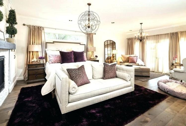 hide rug in bedroom rustic master bedroom cowhide rug the rustic charm in  contemporary decor cowhide
