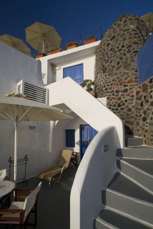 Best Santorini Villa: Blue Angel Villas in Fira