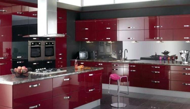 dark red kitchen cabinets black and red kitchen decorating ideas marvelous  red kitchen decor ideas black