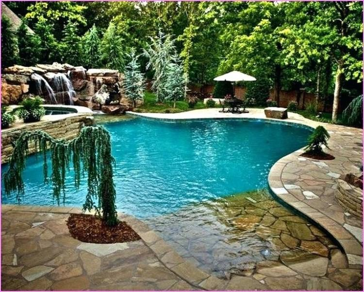 This unique fiberglass pool design by Thursday Pools can become your  perfect party pool