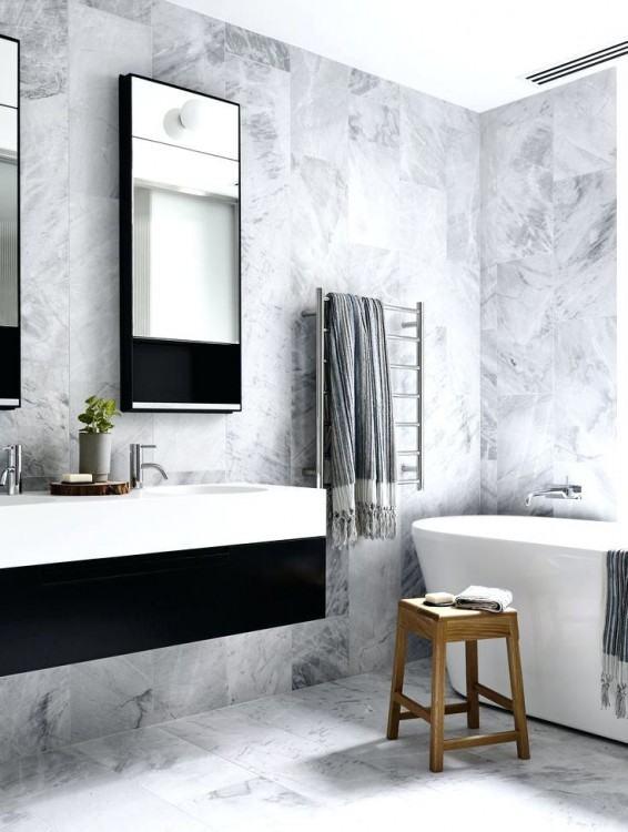 gray bathroom walls gray bathroom bathroom with gray vanity and b w artwork  grey vanity bathroom ideas