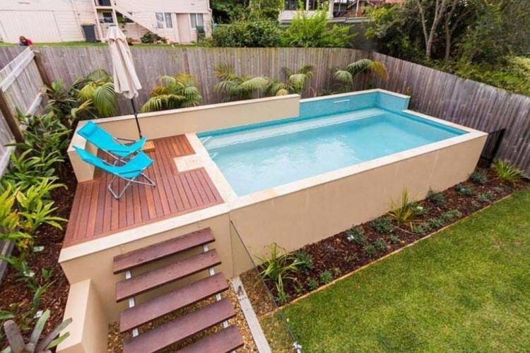 Deck With Pool, Multi Level Deck Peach Tree Decks & Porches Atlanta,