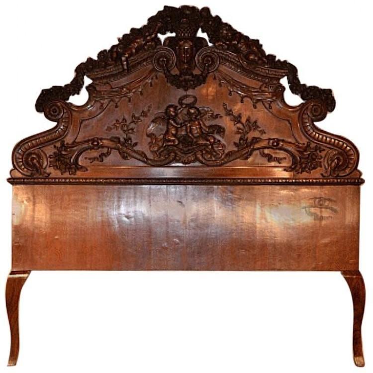 carved wood bed frame carved wooden headboard