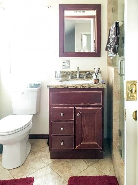 They don't  have to be as functional as the family restrooms, so hope you enjoy these  ideas