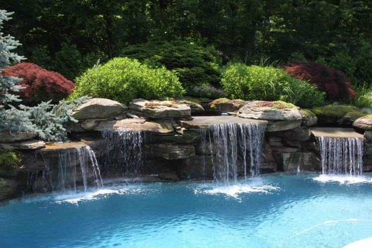 All our custom pools nj are designed under the guidance of William Moore, a  certified New Jersey landscape architect