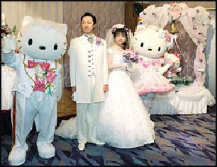 Laptop Bride: Hello Kitty Wedding, Hello Kitty Wedding Gown and