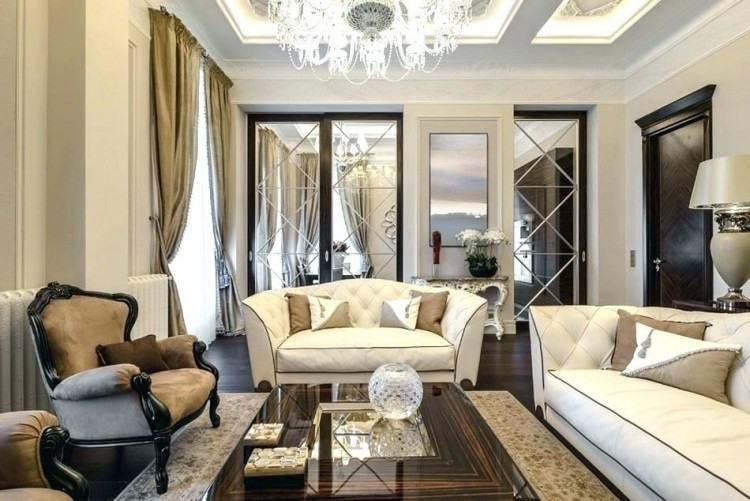 The classic interior house design