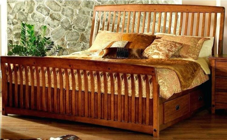 bassett mission style bedroom furniture mission oak