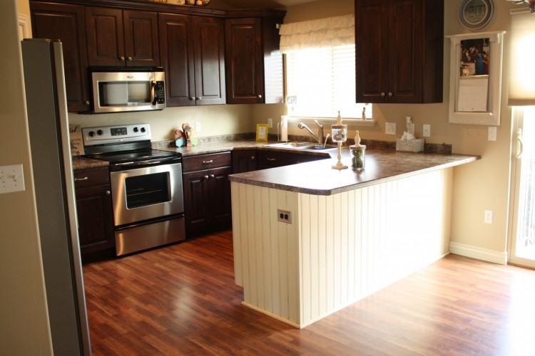 before and after kitchen cabinets lowe's