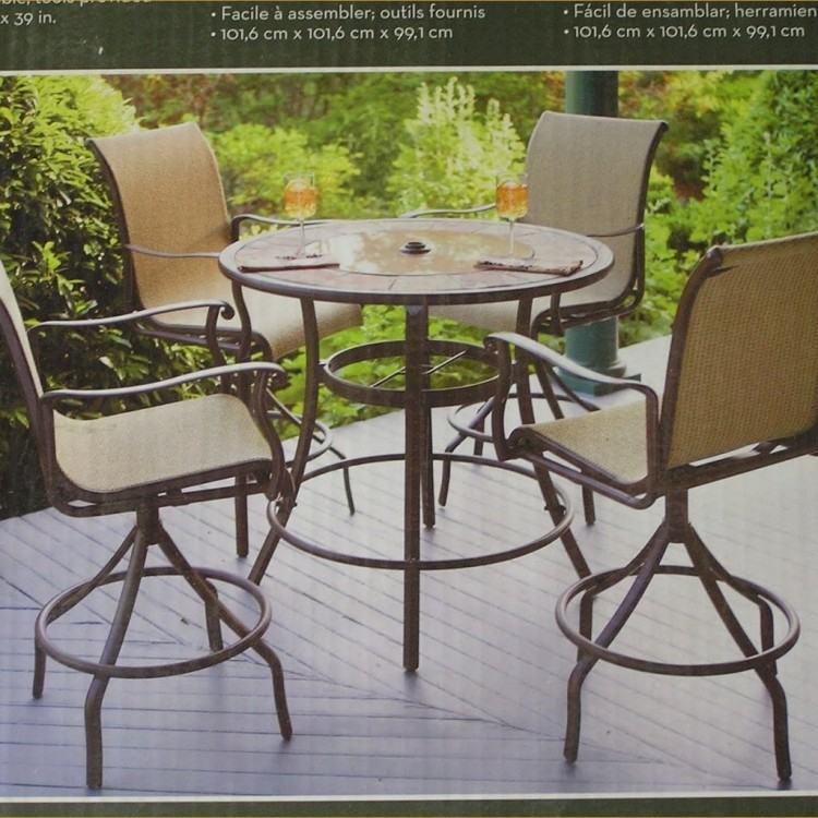 patio furniture high