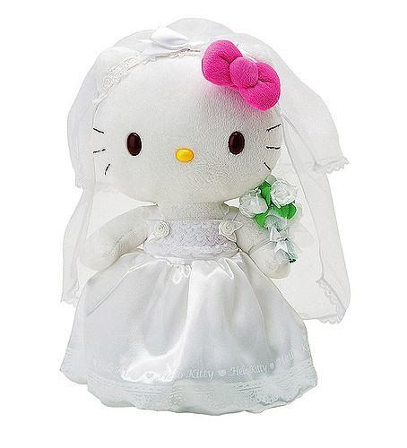 Hello Kitty weddings