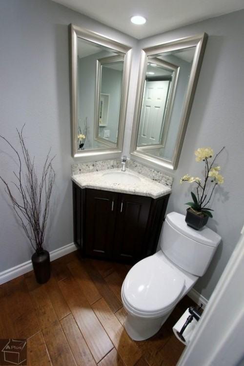 small corner bath vanities corner style vanity