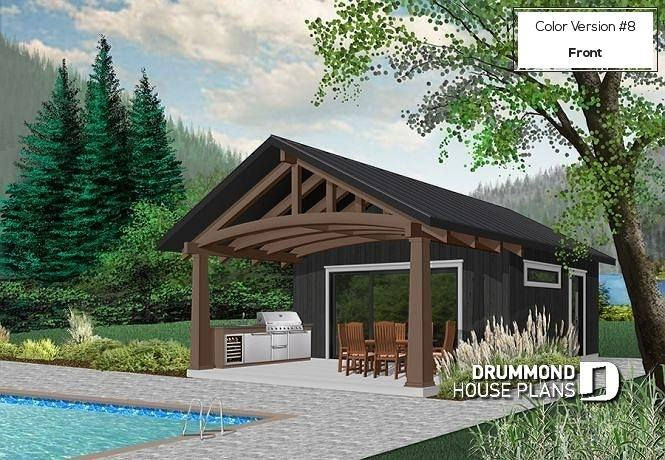home plans with pool pool house plan post beam house plans indoor pool  courtyard