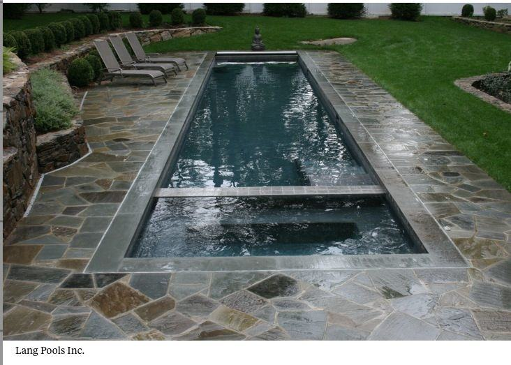 Small Pool Hot Tub