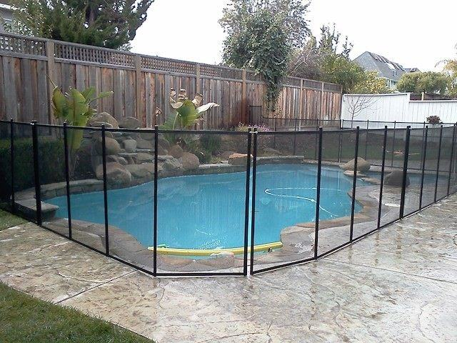 Customizable Premium Removeable Safety Fence For Pools Available At  PoolCenter