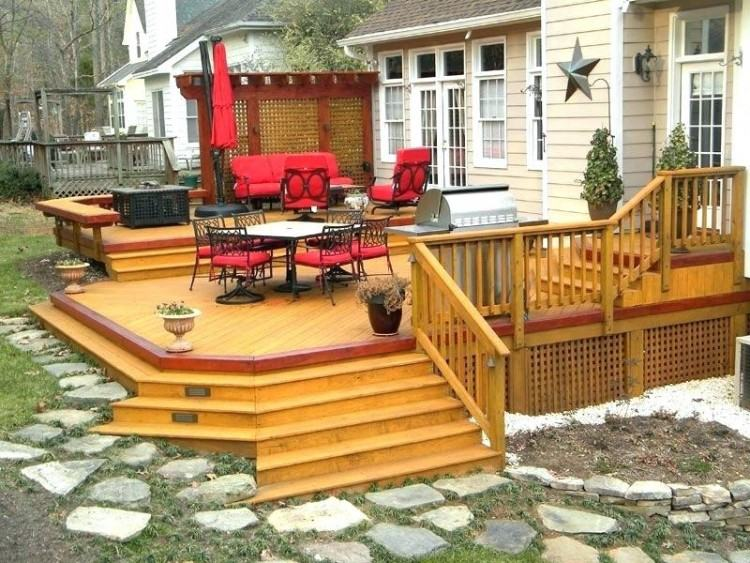 24 Foot Pool Deck Plans Beautiful 135 Best Multilevel Deck and Porch  Ideas Images On Pinterest