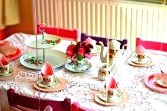 kitchen tea table decoration i