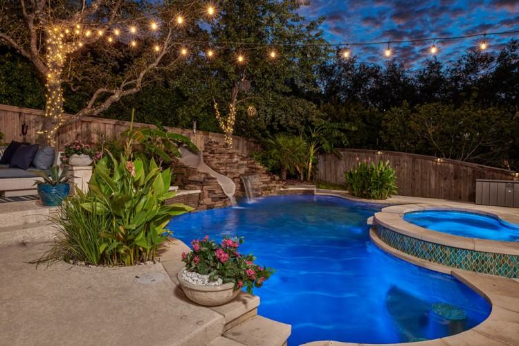 pools that we build in the Texas Hill Country
