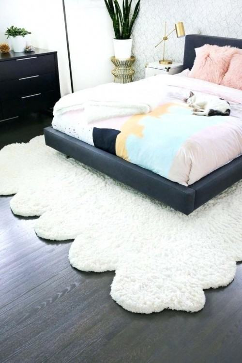 fluffy rugs for bedroom bedroom rugs white fluffy rug bedroom design  marvelous black and shag big
