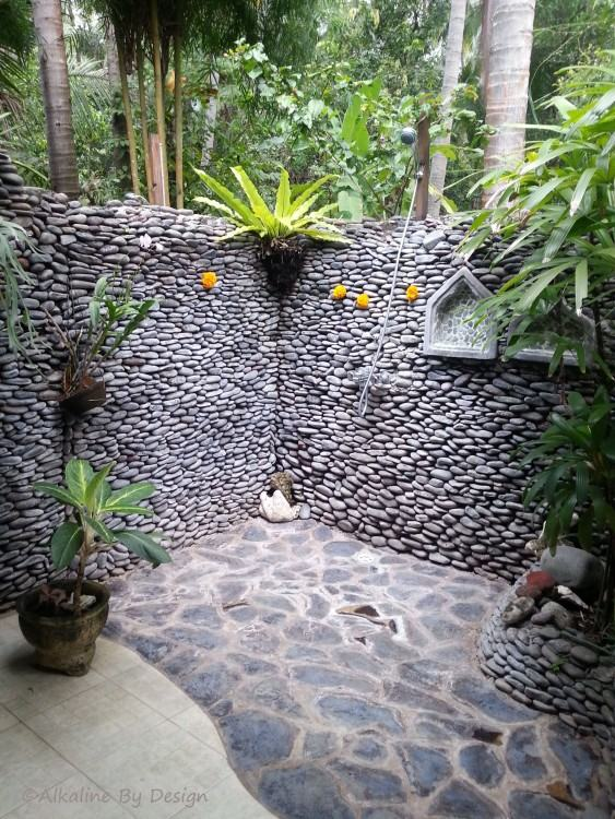 Outdoor Shower at Kamandalu