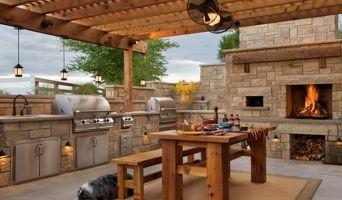 Astonishing Design Outdoor Living Spaces