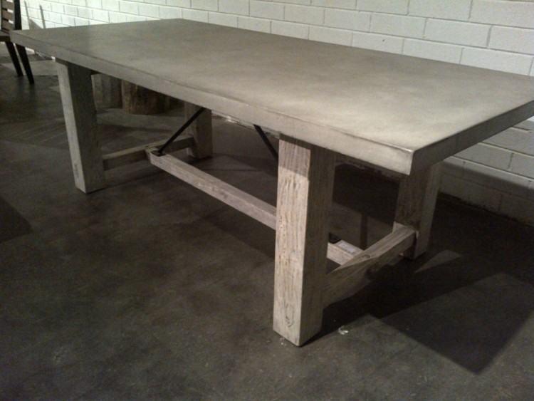 cement top dining table cement top dining table cement top dining table  room cement top dining