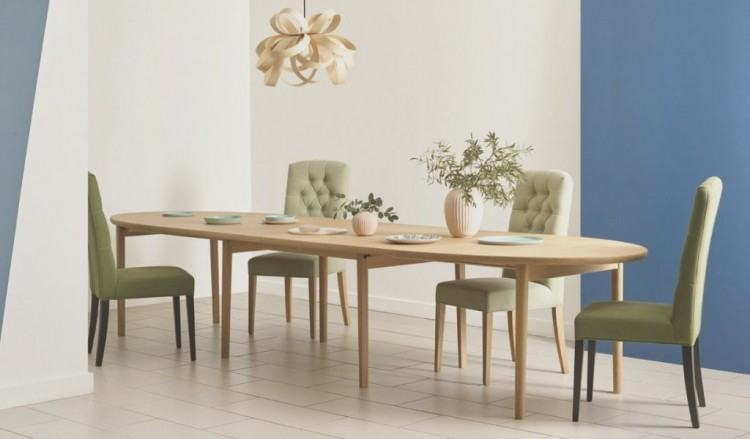 Light Extending Dining Table