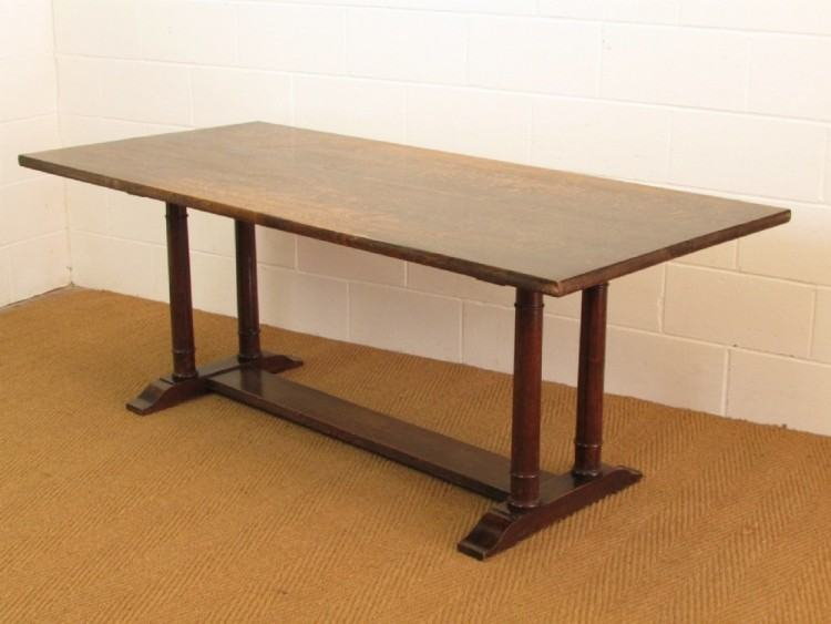 Heals Arts & Crafts refectory dining table