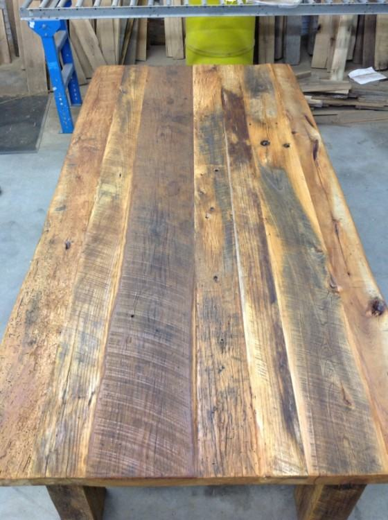 Dining Room Table Reclaimed Wood How To Make Reclaimed Wood Dining Room  Table A Reclaimed Solid Slab Acacia Wood Dining Table Diy Dining Room Table