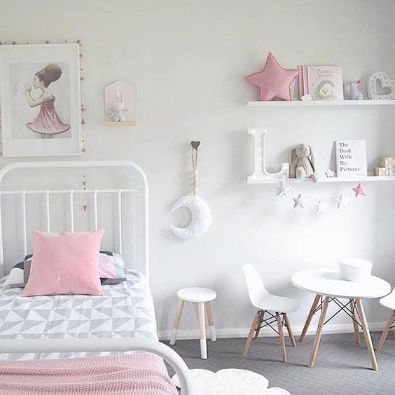 charming girls room small white