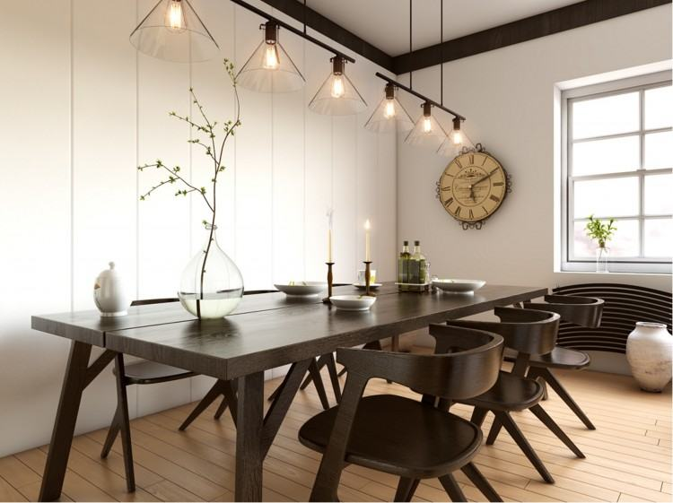 Large Dining Room Spaces With Pub Style Dining Room Sets And Vintage Dining  Table With Wooden Leg And And 8 Dining Chairs With White Fabric Seats And  Carpet
