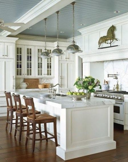 What do you think about wainscoting? clarendon lane: Beadboard in the dining  room
