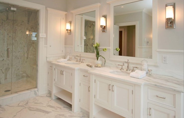 Click on the image to see 10 bathroom vanity design ideas that can help  narrow your choices for your space