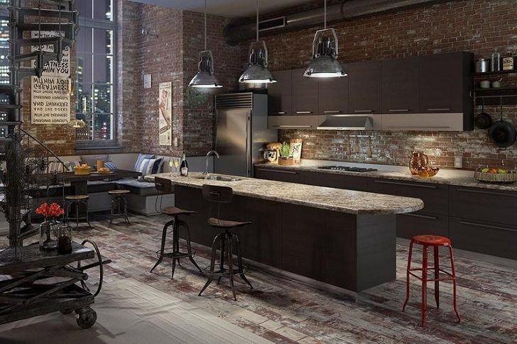 Beautiful Design Industrial Kitchen Cabinets 17 Best KITCHEN LOFT Images  On Pinterest Kitchens Innovative Decoration