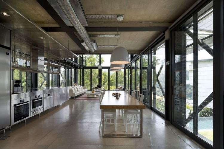 cantilever house para house for ever is a private residence located in la  designed by architects