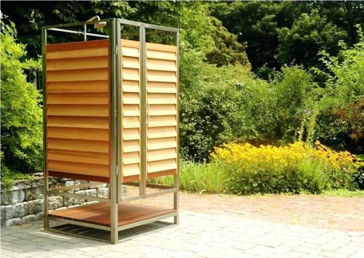 outside shower enclosure kits outdoor showers cedar ct kit australia